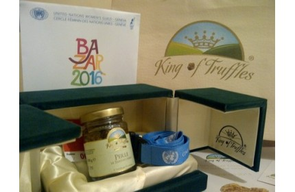 KING OF TRUFFLES ALL'ONU DI GINEVRA