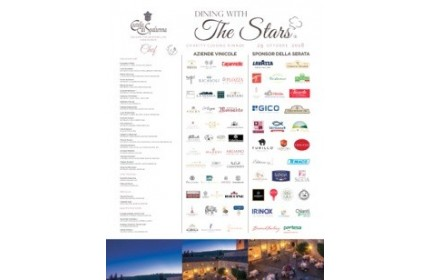 "King of Truffles presente al ""Dining with the Stars – Charity Closer Dinner""  al Castello di Spaltenna"