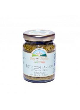 Pesto con basilico al tartufo nero