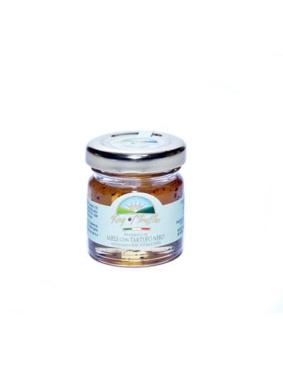 Honey with black truffle
