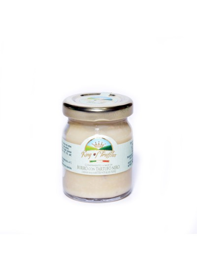 Condiment based on Butter with black truffle