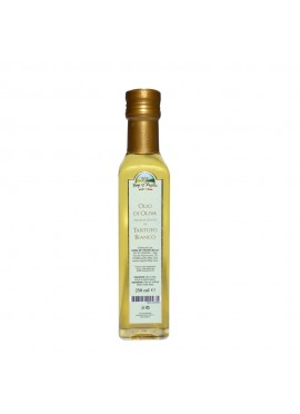 Olive oil flavoured with white truffle